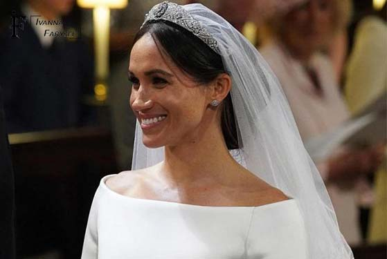 Megan Markle's wedding hairstyle