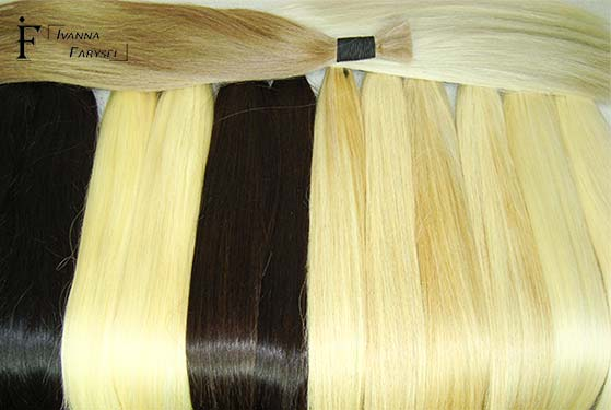 Slavic hair for hair extensions