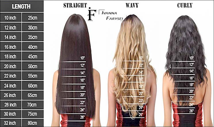 Selection long hair photo