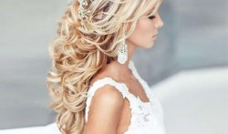 Braided hair with curls for long hair