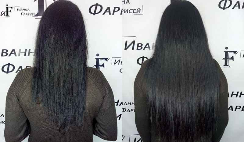 Hair Extensions In Kyiv On Moderate Prices Ivanna Farysei