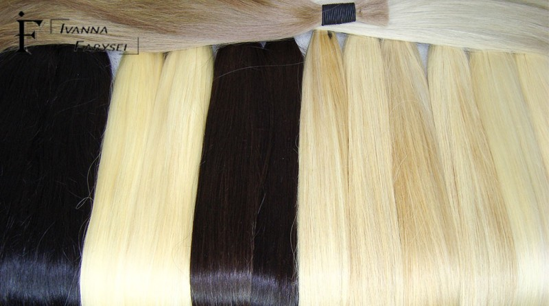 Natural hair for hair extensions