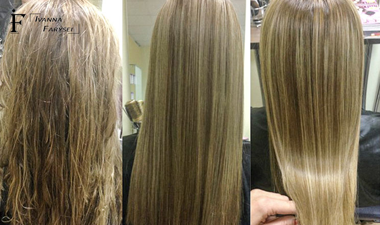 Safe method of hair straightening – quality work with customers