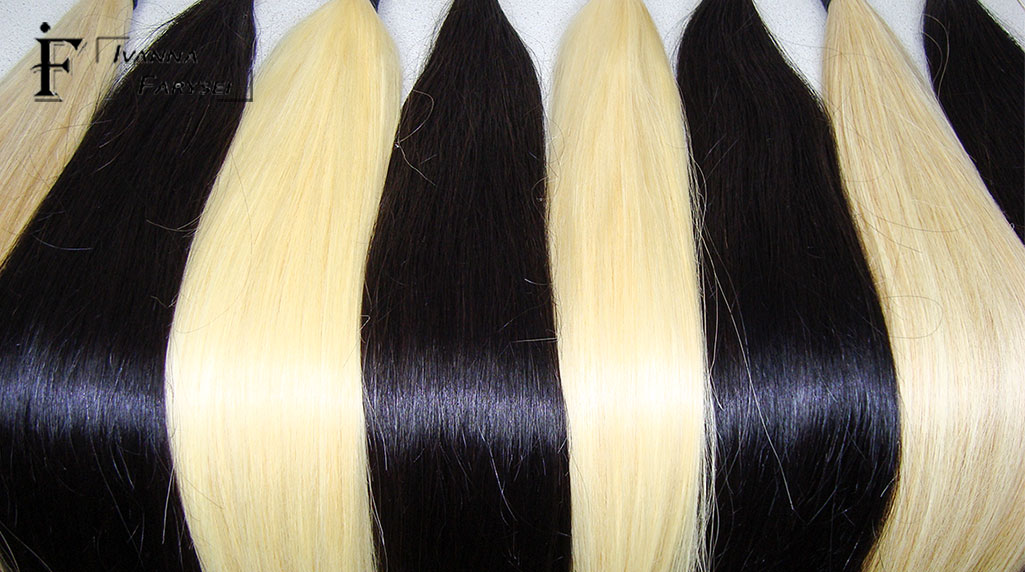 Buy natural hair for quality extensions is possible in Ukraine